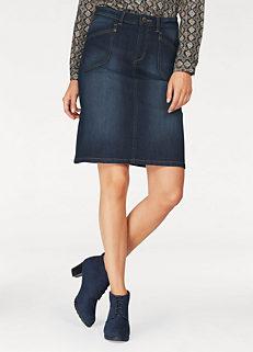 5c881553f5a Blue Denim Skirt by Cheer