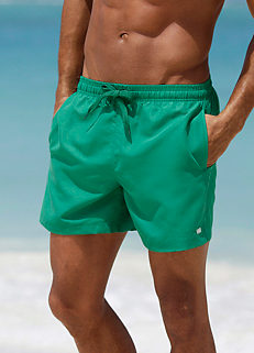 Green Swimming Shorts by H.I.S 76336613dd81