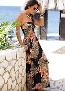 e23d972aa2f Multi Print Maxi Dress by LASCANA