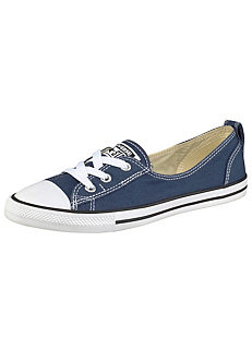 6dd64f77bc17 Navy  Chuck Taylor All Star Ballet  Lace Sneakers by Converse