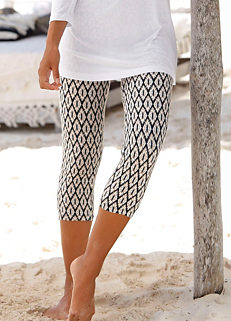92eae98be15 Print Capri Trousers by LASCANA