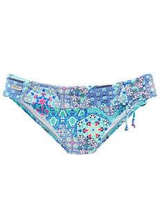 a3a5f69a1f3 Turquoise Print Flip-Waist Swimwear Briefs by Buffalo
