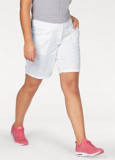 c7fcea82a67 White 2 in 1 Bermuda Shorts by KangaROOS