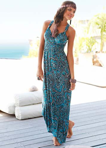 Teal Beach Dress