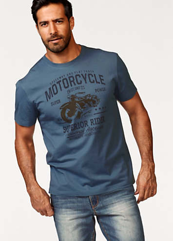 38949fe3003 ... printed motorcycle t shirt by arizona swimwear365  trumps snitch stormy  fell off motorcycle funny biker shirts  i m a biker grandad mens ...