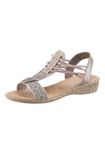 Rose RiekerSwimwear365 Sandals Sandals By Metallic Metallic By Rose e9HbWD2IEY