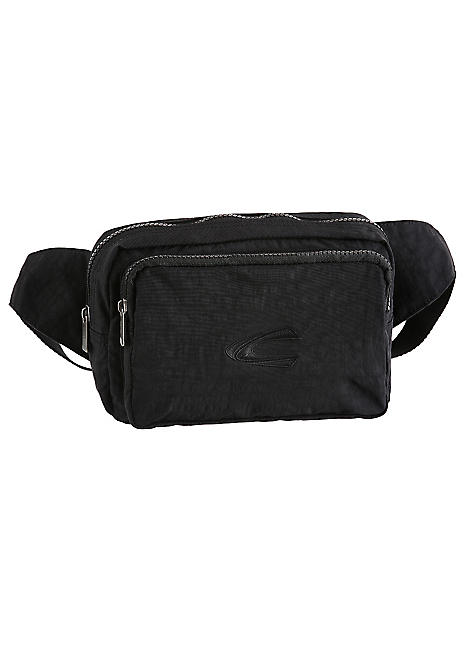 good uk availability size 40 Black Journey Belted Pouch Bag by Camel Active
