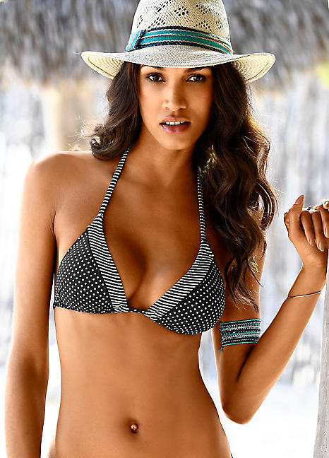 Triangle oliver Bikini 'avni' Red Top S Black Label Print By 4waqvv