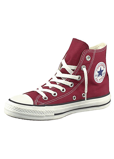 96552c6ff6fc Burgundy All Star Hi Top Trainers by Converse