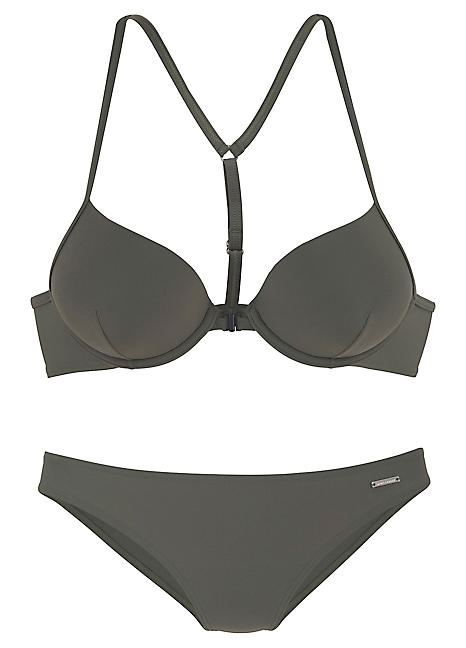 24015f5731 Olive Push-Up Bikini by Bruno Banani | Swimwear365