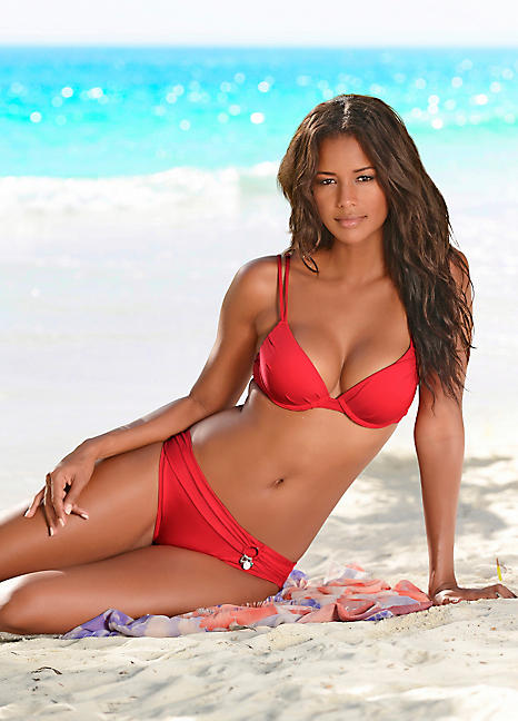 eb7f464863f59 Red Push-Up Bikini by s.Oliver | Swimwear365