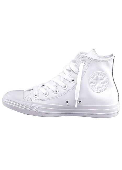 527e9b1442e3 White  Chuck Taylor All Star Core Mono  Hi Tops by Converse ...
