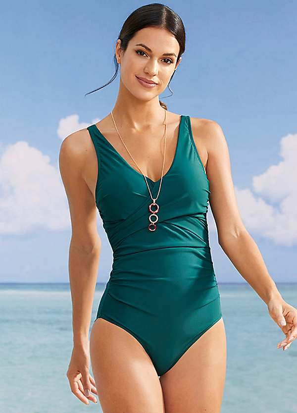 Green Shaper Swimsuit by bpc selection