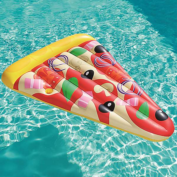 Inflatable Pizza Party Swimming Pool Float by Bestway
